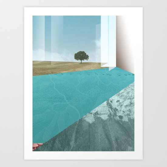 atmosphere 26 · Floodland Art Print