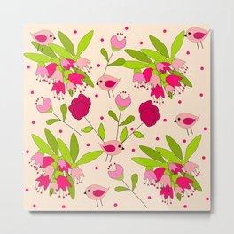 floral pattern Metal Print