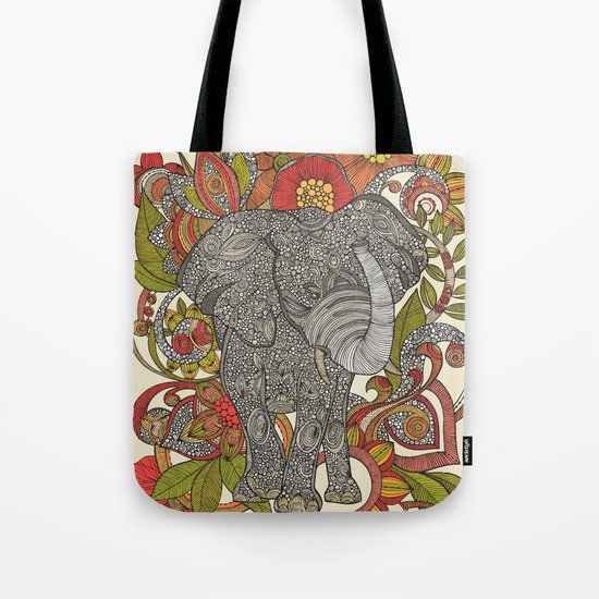 Bo the elephant Tote Bag