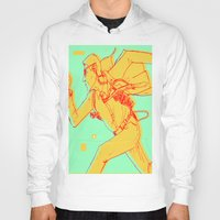 runner Hoodies featuring Runner by gallerydod