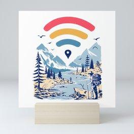 Internet Explorer Mini Art Print