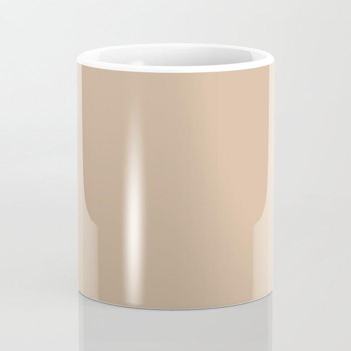 Hazelnut   Pantone Fashion Color Spring : Summer 2017   Solid Color Coffee Mug