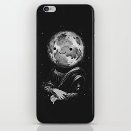Moonalisa iPhone Skin