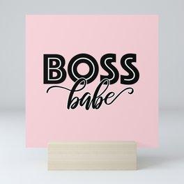 Boss Babe Mini Art Print