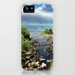On the way to Kotor.. iPhone Case