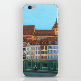 Barfüsserplatz Rendez-vous iPhone Skin