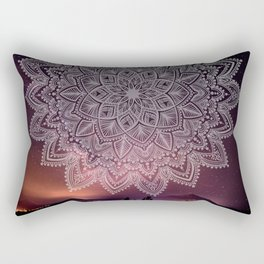 Mandala Universe Love Rectangular Pillow