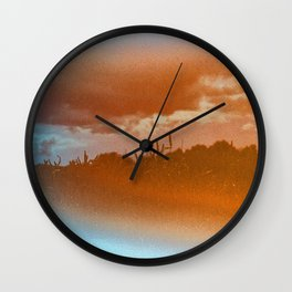 this place may only be found in your dreams Wall Clock