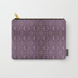 Purple marocco Carry-All Pouch