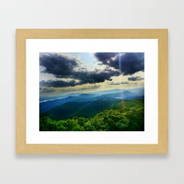 Catskill Mountains from Above Framed Art Print
