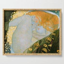 """Gustav Klimt """"Danaë"""" Serving Tray"""