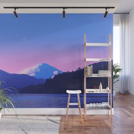 Mount Fuji Sunrise Wall Mural