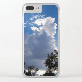 The Sunset Begins Clear iPhone Case