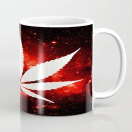 Weed : High Times Red Galaxy Coffee Mug