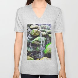 Stacked Unisex V-Neck