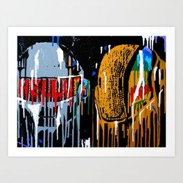 Daft Drip Art Print