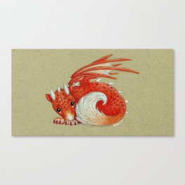 Baby Red Dragon Canvas Print