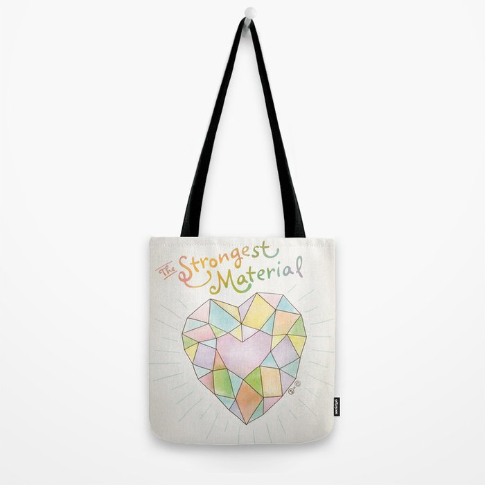 The Strongest Material Tote Bag