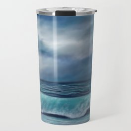 Moody waves Travel Mug