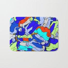 Sleepy Heads - Sapphire Blue Bath Mat