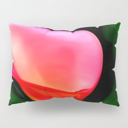 Painted Calla Lilies - Red Pillow Sham