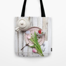 After the Tea Party Tote Bag