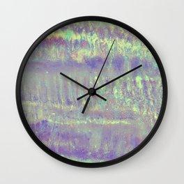 Mermaid metallic Wall Clock