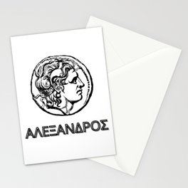 Alexander the Great Stationery Cards