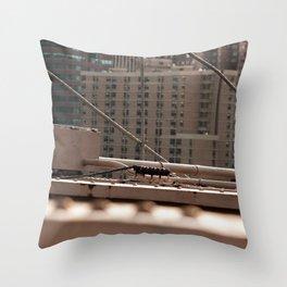 Geometric City Throw Pillow