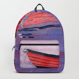 Red Dory Reflections Backpack