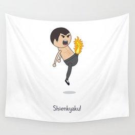 Shienkyaku! Flame Kick! Wall Tapestry