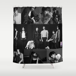 BTS Fake Love Shower Curtain