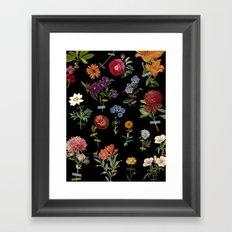 Vertical Garden IV Framed Art Print