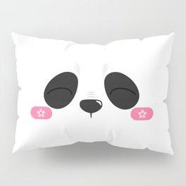 Happy Panda Pillow Sham