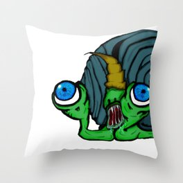 Slimerh! Throw Pillow