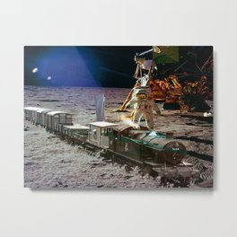 Moon Express Metal Print