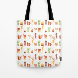 Happy Hour Drinks Tote Bag