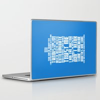 tardis Laptop & iPad Skins featuring Tardis by Tombst0ne