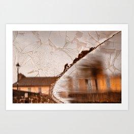 Stream of Peeling Dreams Art Print
