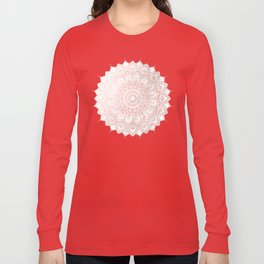 Pleasure Rose Gold Long Sleeve T-shirt