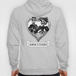 Amor Eterno | Eternal Love | Black and White Hoody