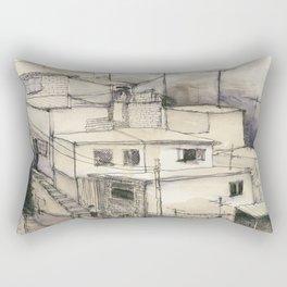 Armenian Rooftops Rectangular Pillow