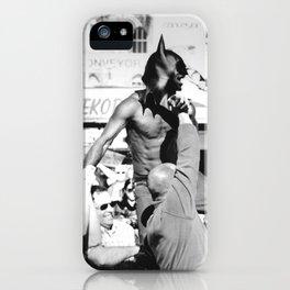 Dark Street Knight iPhone Case
