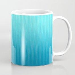 Soft ikat pattern - Blue Coffee Mug