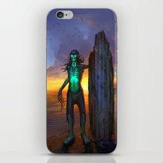 Toxic Surfer iPhone & iPod Skin