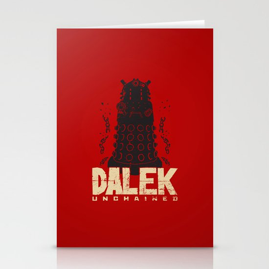 Dalek Unchained Stationery Cards