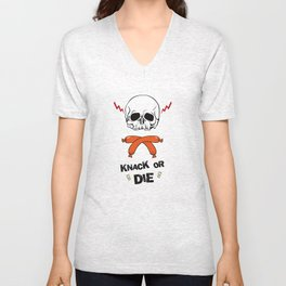Knack Or Die Unisex V-Neck