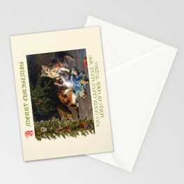 CHRISTMAS GREETINGS for Naughty Cats Stationery Cards