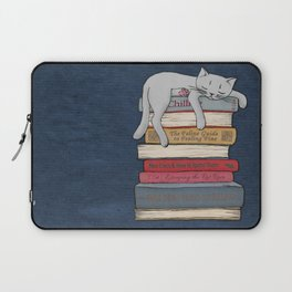 How to Chill Like a Cat Laptop Sleeve