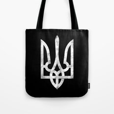 Ukraine Black Grunge Tote Bag